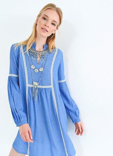 Dantel Detaylı Elbise-People By Fabrika